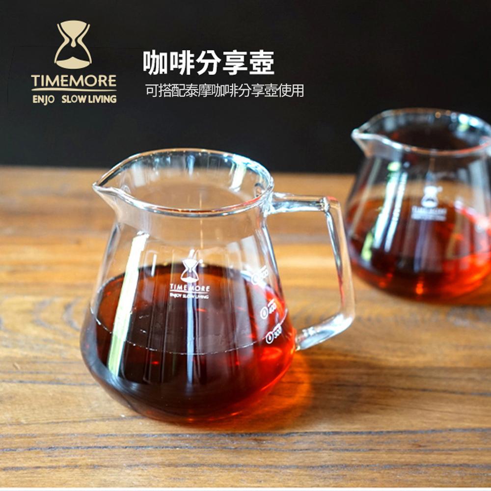 TIMEMORE泰摩水晶冰瞳手沖咖啡濾杯
