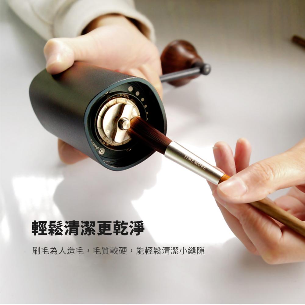 TIMEMOR泰摩 胡桃木咖啡清潔刷