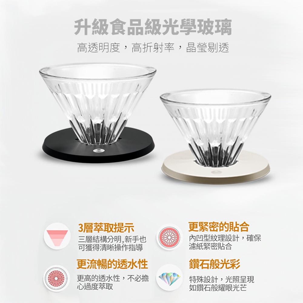TIMEMORE泰摩栗子C2小殺手箱手沖咖啡套裝(七件組)