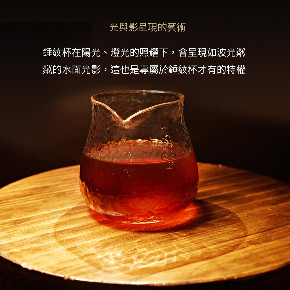 泰摩TIMEMORE錘目紋玻璃咖啡分享壺
